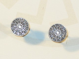 Black Sun - Cufflinks Set