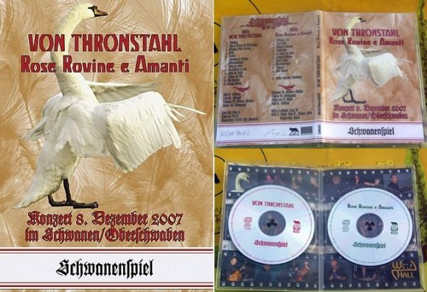 VON THRONSTAHL Rose Rovine E Amanti - Schwanenspiel 2CD (+signed)
