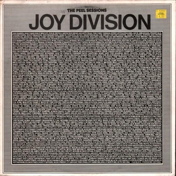 Joy Division – The Peel Sessions LP (1986)