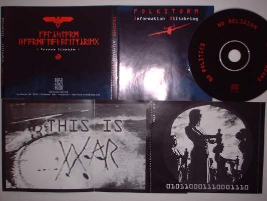 Folkstorm - Information Blitzkrieg CD