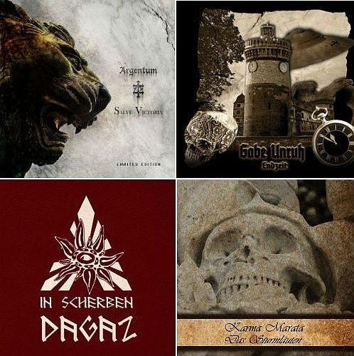 4-CD BUNDEL: Argentum Gabe Unruh In Scherben Karma Marata