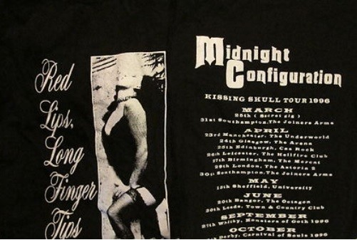Midnight Configuration - Red Lips Shirt