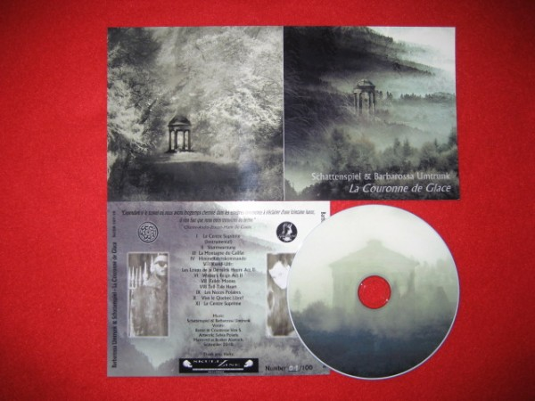 BARBAROSSA UMTRUNK & SCHATTENSPIEL - La Couronne de Glace CD