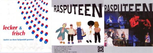 """Rasputeen (The Rorschach Garden) - Minimal-Scheissegal 7"""" (Lim30"""