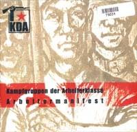 KDA Kampfgruppen Der Arbeiterklasse - Arbeitermanifest 7 (Lim111