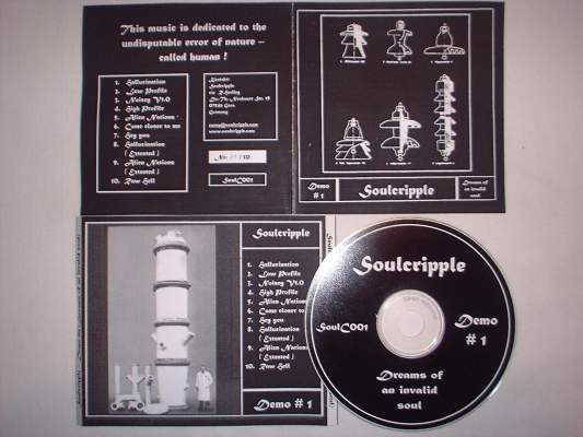 Soulcripple - Dreams Of An Invalid Soul CD (1nd Lim50)